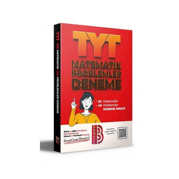 2021 TYT 20 Matematik 40 Problemler Deneme Benim Hocam Yayınları