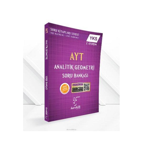 AYT Analitik Geometri Soru Bankası Karekök Yayınları