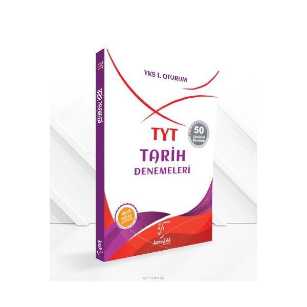 TYT Tarih Denemeleri Karekök Yayınları