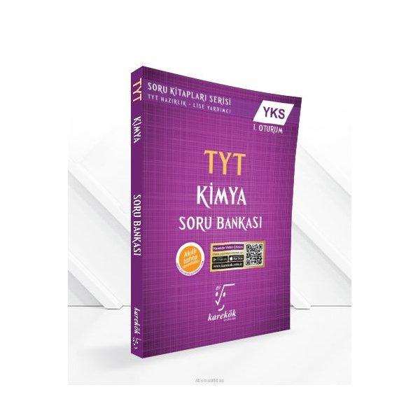 TYT Kimya Soru Bankası Karekök Yayınları
