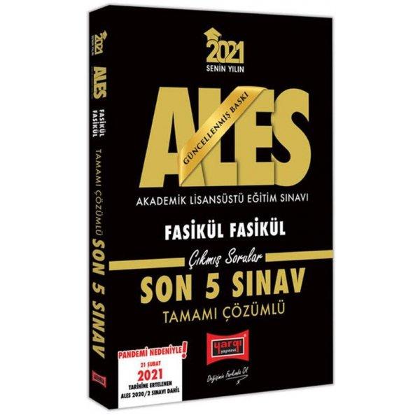 2021 ALES Son 5 Sınav Tamamı Çözümlü Çıkmış Sorular Yargı Yayınları