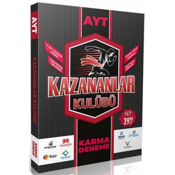 PRF Yayınları AYT Karma Deneme Kazananlar Kulübü 7 Video Çözümlü Karma Deneme