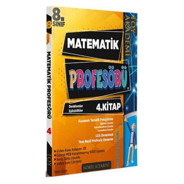 8. Sınıf LGS Matematik Profesörü 4. Kitap Denklemler ve Eşitsizlikler Toy Akademi Yayınları