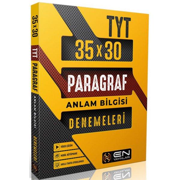 En Yayınları TYT Paragraf Anlam Bilgisi 35X30 Denemeleri