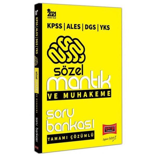 2021 KPSS ALES DGS YKS Sözel Mantık ve Muhakeme Tamamı Çözümlü Soru Bankası Yargı Yayınları