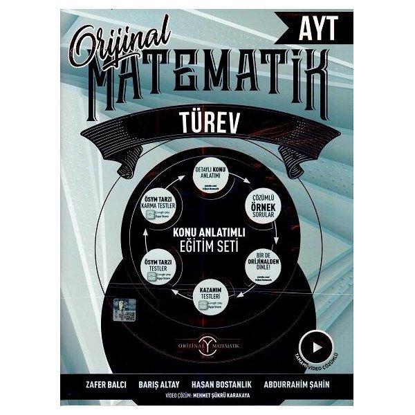 Orijinal Yayınları AYT Matematik Türev Konu Anlatımlı