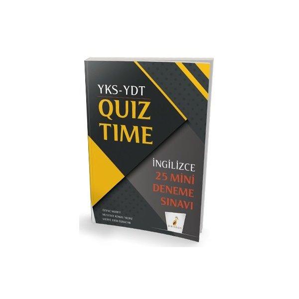 YKS YDT İngilizce Quiz Time 25 Mini Deneme Pelikan Yayınları