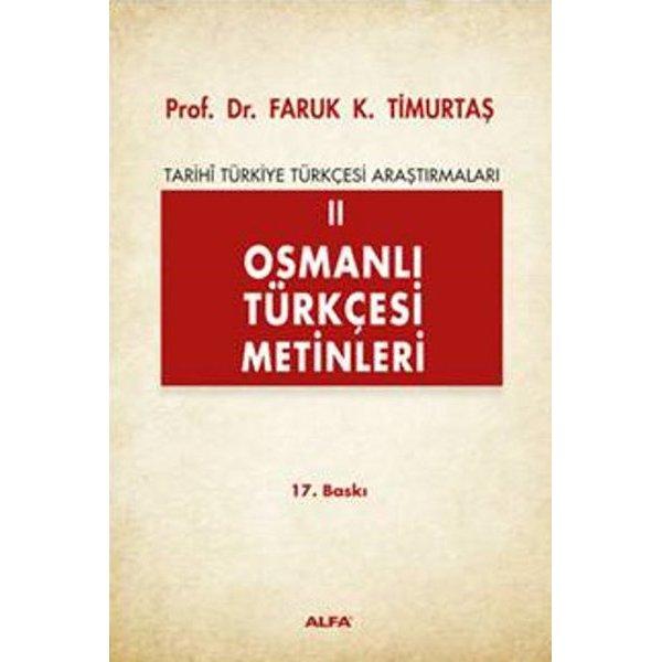 Osmanlı Türkçesi Metinleri