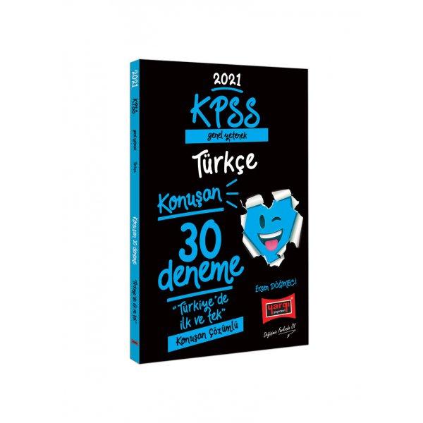 2021 KPSS Genel Yetenek Türkçe Konuşan 30 Deneme Yargı Yayınları