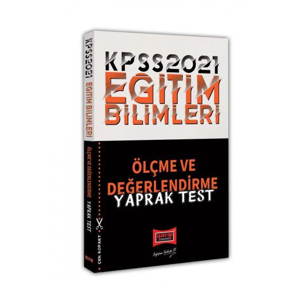 2021 KPSS Eğitim Bilimleri Ölçme ve Değerlendirme Yaprak Test Yargı Yayınları