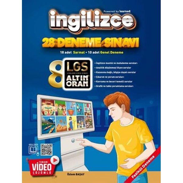 Altın Oran Yayınları 8. Sınıf İngilizce Tamamı Video Çözümlü 20 Deneme