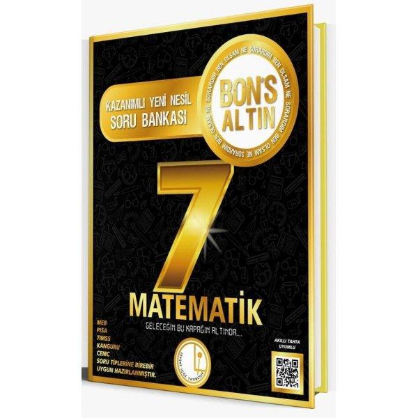Levent İçöz 7. Sınıf Matematik Bons Altın Soru Bankası