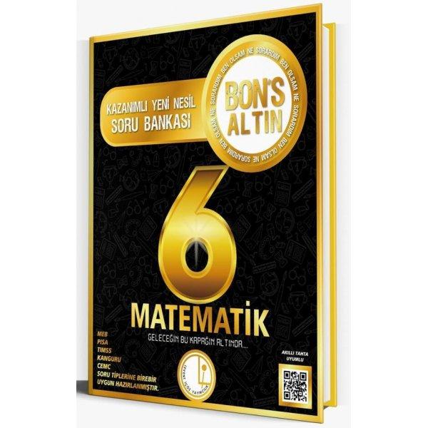Levent İçöz 6. Sınıf Matematik Bons Altın Soru Bankası