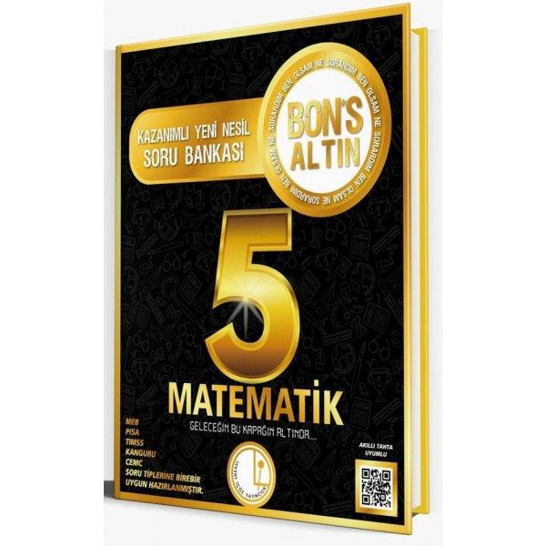 Levent İçöz 5. Sınıf Matematik Bons Altın Soru Bankası