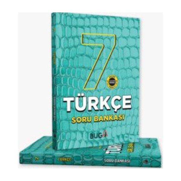 Buga Yayınları 7. Sınıf Türkçe Soru Bankası