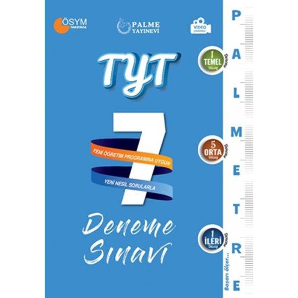 Palme Yayınları TYT Palmetre Serisi 7 Deneme Sınavı