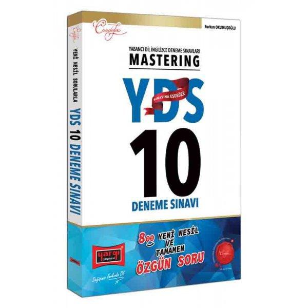 YDS Mastering 10 Deneme Sınavı Yargı Yayınları