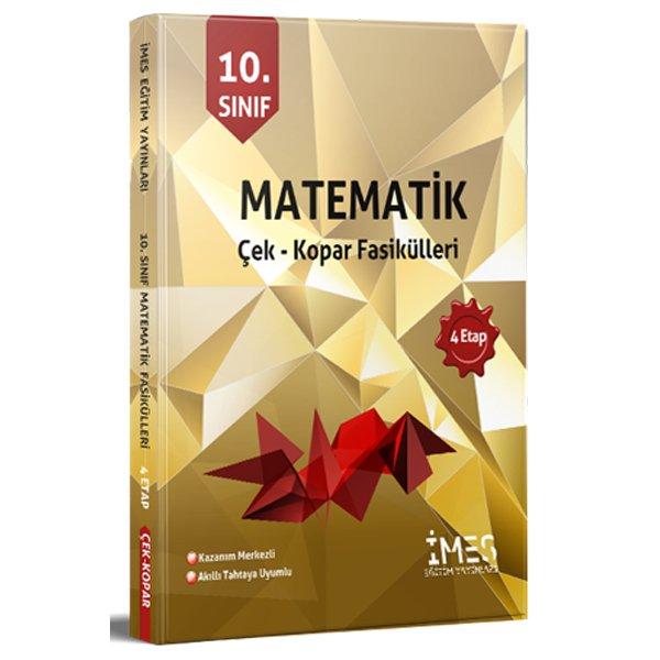 10. Sınıf Matematik Çek Kopar Fasikülleri 4 Etap İMES Eğitim Yayınları
