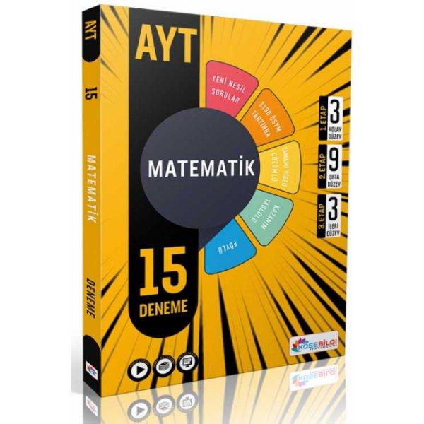 KöşeBilgi Yayınları AYT 15 Matematik Branş Denemesi