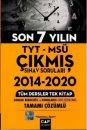 Çap Yayınları TYT MSÜ Tüm Dersler Tek Kitap Tamamı Çözümlü Son 7 Yılın Çıkmış Sınav Soruları