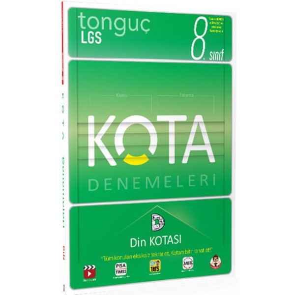 Tonguç Akademi 8. Sınıf Kota Konu Taramaları Din Kotası