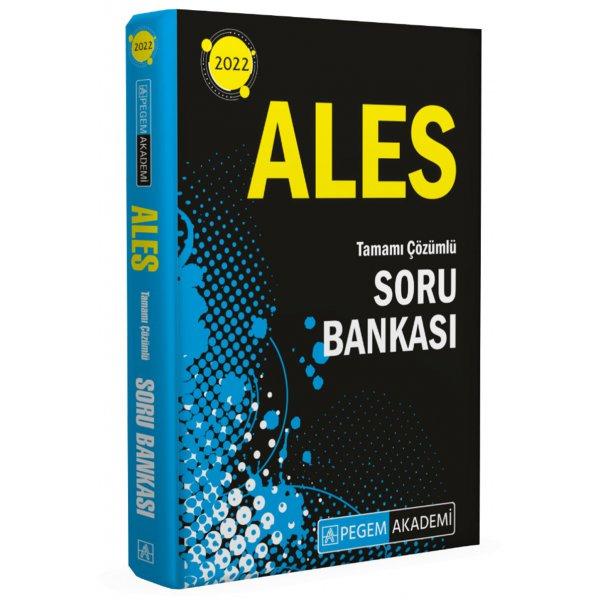 2022 ALES Tüm Adaylar için Soru Bankası Pegem Yayınları