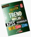 KPSS Vatandaşlık Fulleten Trend Notlar - Adnan Özer Trend  Akademi Yayınları