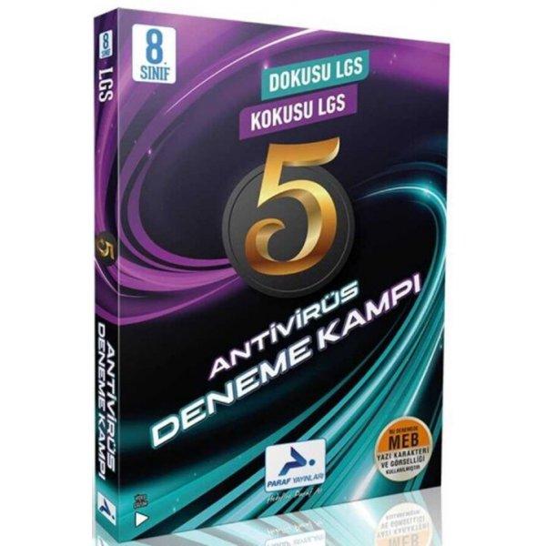 Paraf Yayınları 8. Sınıf LGS Antivirüs 5 li Deneme Kampı