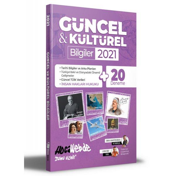 2021 Güncel ve Kültürel Bilgiler - 20 Deneme İlaveli Hocawebde Yayınları