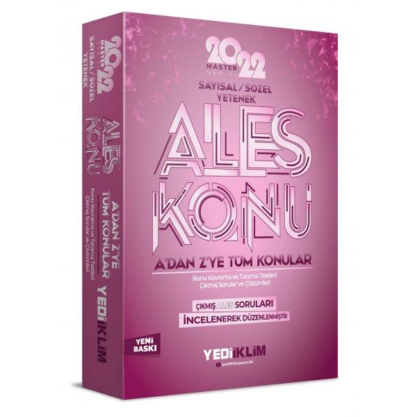 2022 Master Serisi ALES Sayısal- Sözel Yetenek Konu Anlatımı Yediiklim Yayınları