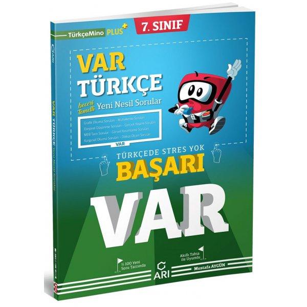 Arı Yayınları 7. Sınıf Türkçe Var Soru Bankası