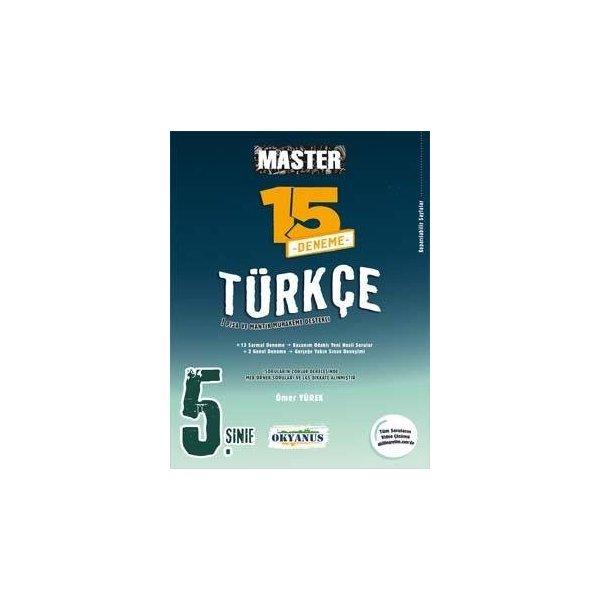 5. Sınıf Türkçe Master 15 Deneme Okyanus Yayınları