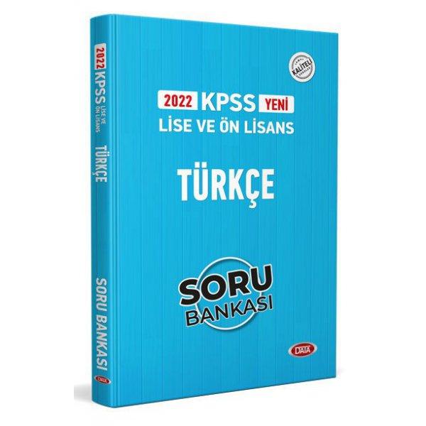 2022 KPSS Lise & Ön Lisans Türkçe Soru Bankası Data Yayınları