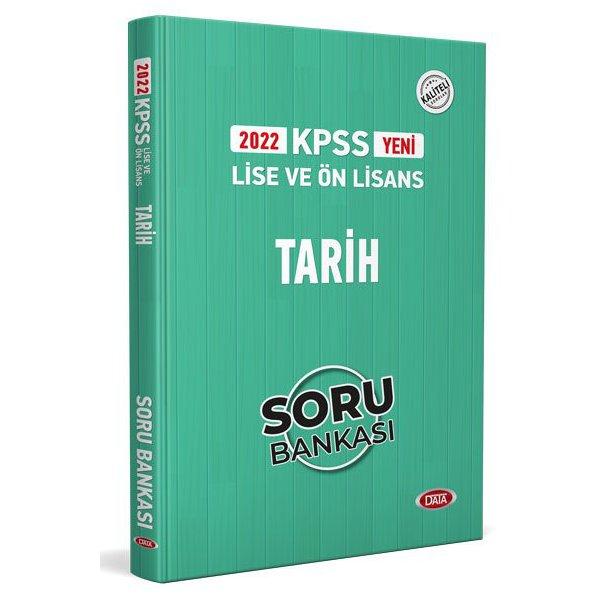 2022 KPSS Lise & Ön Lisans Tarih Soru Bankası Data Yayınları