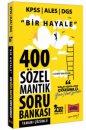 2022 KPSS ALES DGS Bir Hayale 400 Sözel Mantık Tamamı Çözümlü Soru Bankası Yargı Yayınları