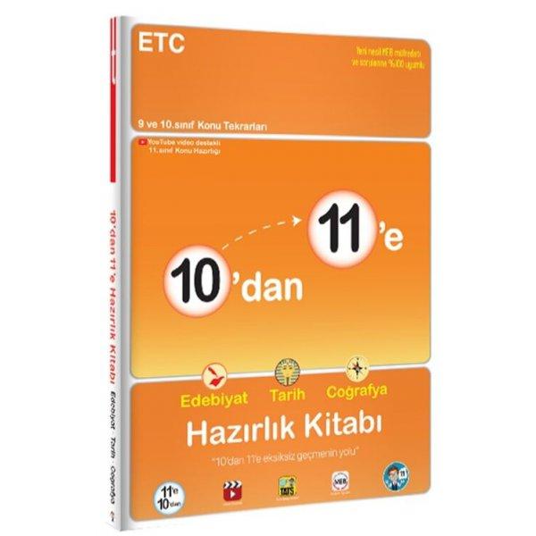 Tonguç Akademi 10 dan 11 e Edebiyat Tarih Coğrafya Hazırlık Kitabı