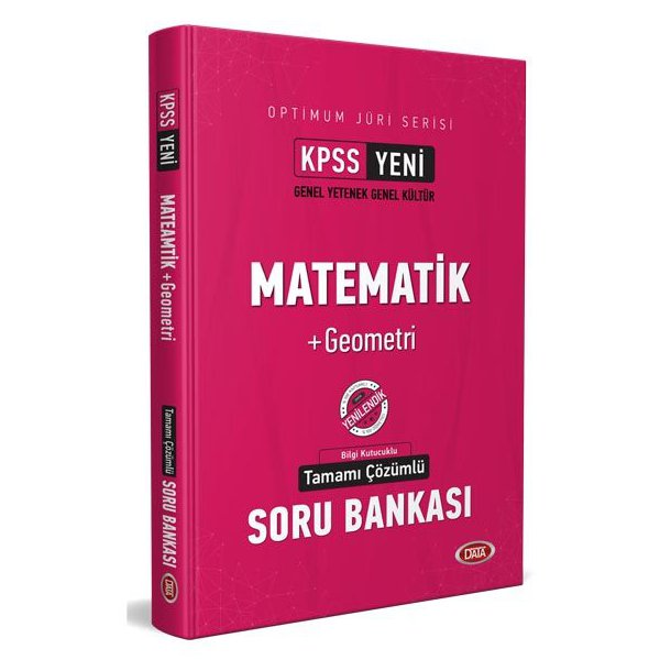 2021 KPSS Optimum Jüri Serisi Matematik Çözümlü Soru Bankası Data Yayınları