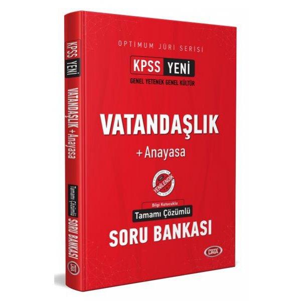 2021 KPSS Optimum Jüri Vatandaşlık + Anayasa Çözümlü Soru Bankası Data Yayınları