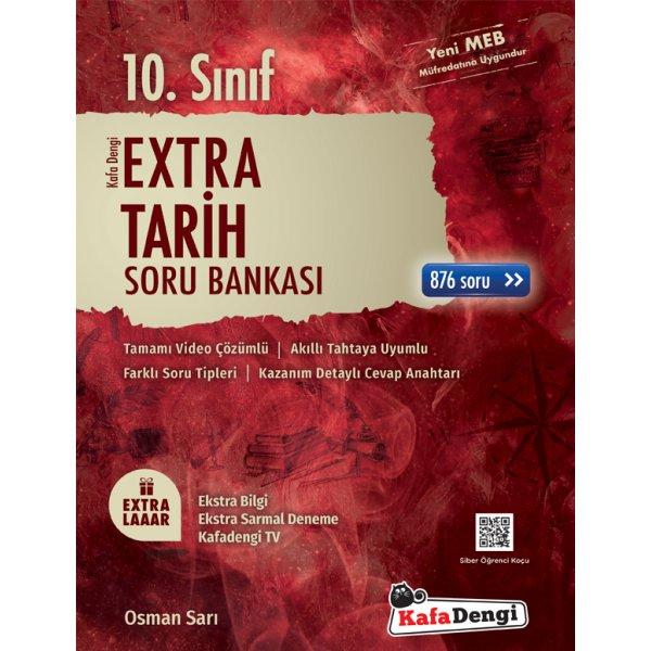 10.Sınıf Extra Tarih Soru Bankası Kafa Dengi Yayınları