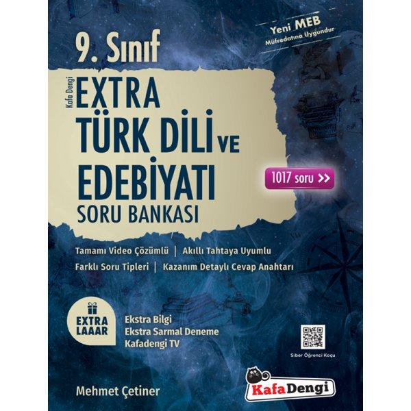 9.Sınıf Extra Türk Dili ve Edebiyatı Soru Bankası Kafa Dengi Yayınları