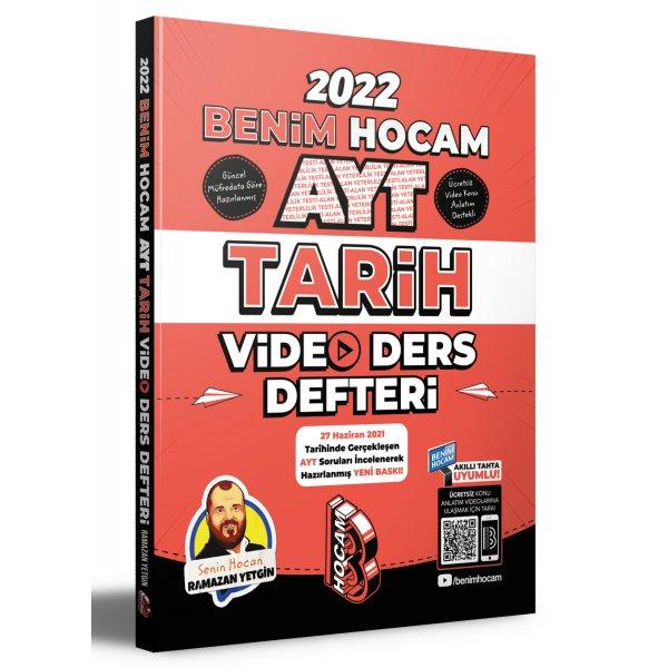 2022 AYT Tarih Video Ders Defteri Benim Hocam Yayınları