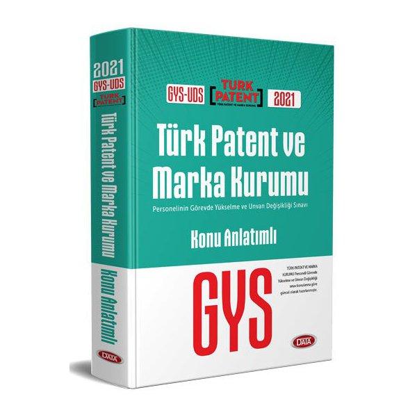 2021 Türk Patent ve Marka Kurumu GYS-UDS Konu Anlatımlı Data Yayınları