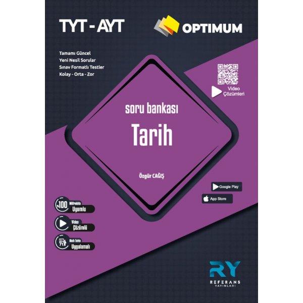 TYT AYT Tarih Optimum Soru Bankası Referans Yayınları