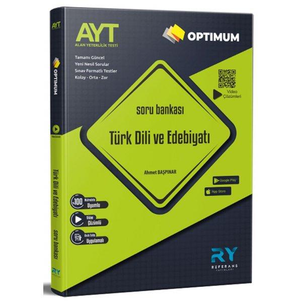 AYT Türk Dili ve Edebiyatı Optimum Soru Bankası Referans Yayınları