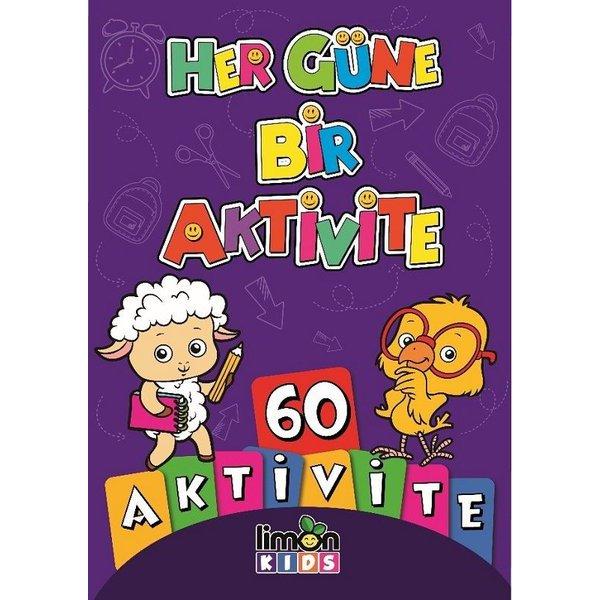 Her Güne Bir Aktivite-60 Aktivite Limon Kids Yayınları