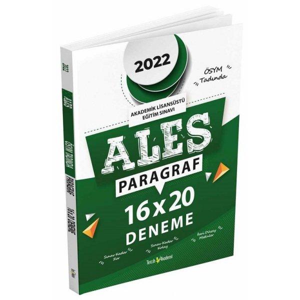 2022 ALES Paragraf 16x20 Deneme Tercih Akademi Yayınları