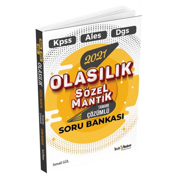 2021 KPSS ALES DGS Olasılık Sözel Mantık Soru Bankası Çözümlü Tercih Akademi Yayınları
