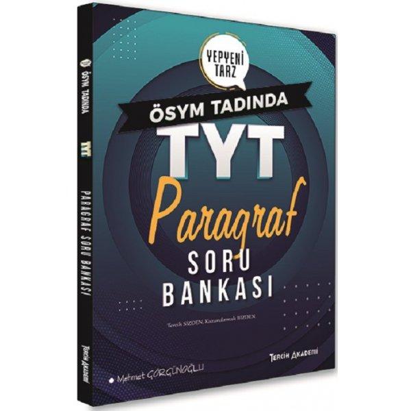 TYT Paragraf Soru Bankası Tercih Akademi Yayınları