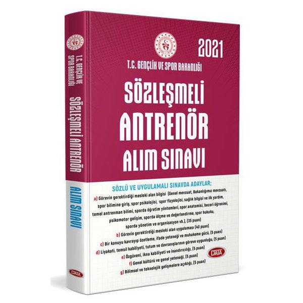 Gençlik ve Spor Bakanlığı Sözleşmeli Antrenör Alım Sınavına Hazırlık Kitabı Data Yayınları