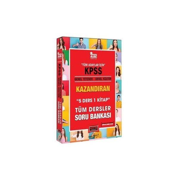 Yargı Yayınları 2022 KPSS Genel Yetenek Genel Kültür 5 Ders 1 Kitap Kazandıran Tüm Dersler Soru Bankası
